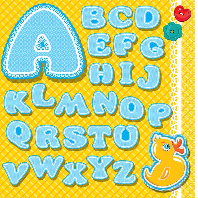 アルファベットのイラスト,バイリンガル,英語,育児
