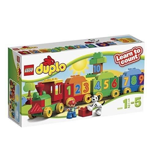 レゴ (LEGO) デュプロ かずあそびトレイン 10558,汽車,おもちゃ,