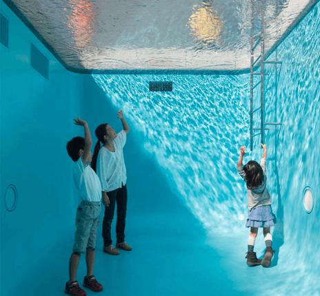 スイミング・プール,金沢21世紀美術館,