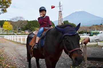 乗馬体験,まかいの牧場,