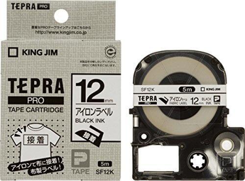 キングジム テープカートリッジ テプラPRO アイロンラベル SF12K,テプラ,