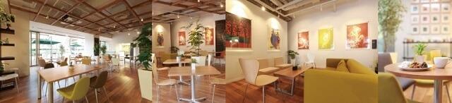 GREEN CAFEの店内,豊橋,ランチ,おすすめ