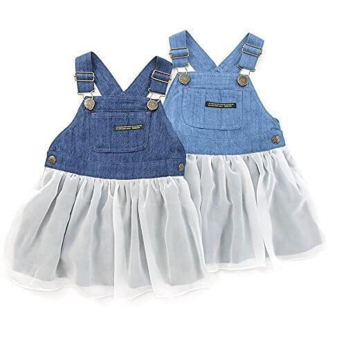 Bobson(ボブソン) ジャンパースカート (80~130cm) キムラタンの子供服 (77462x77962-163) サックス 80,デニム,生地,
