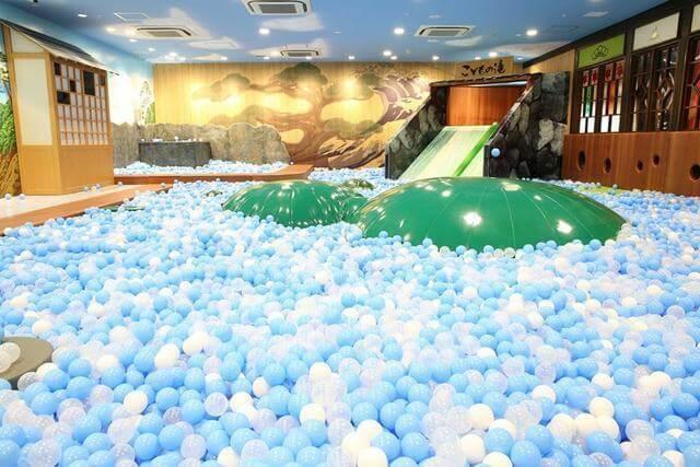東京こども区 こどもの湯ボールプール,おでかけ,子ども,室内施設