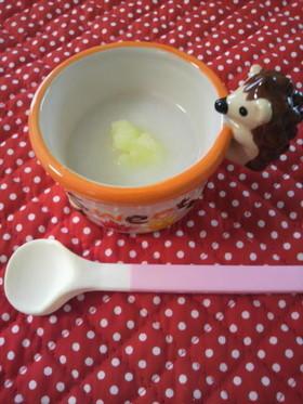 離乳食*初期〜ジャガイモ粥〜,離乳食,10倍粥,