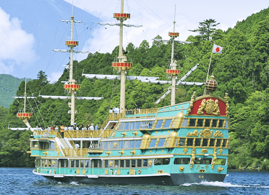 箱根海賊船,子ども,箱根,おすすめ