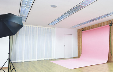 ロイヤルカイラフォトスタジオのスタジオ内部,マタニティフォト,横浜,