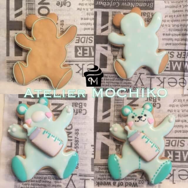 アトリエMOCHIKO作アイシングクッキー,アイシングクッキー,人気,レシピ
