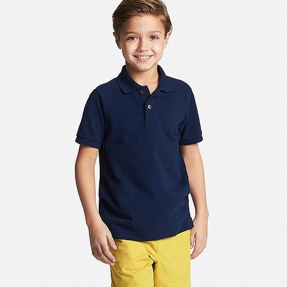 ドライカノコポロシャツ(半袖) ユニクロ,キッズ,ポロシャツ,
