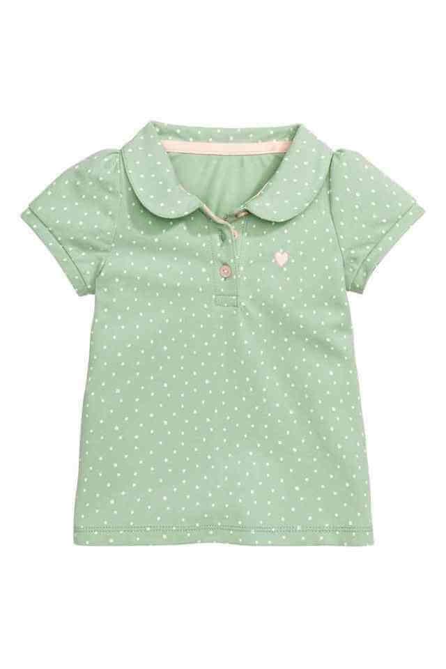ポロシャツ H&M,キッズ,ポロシャツ,