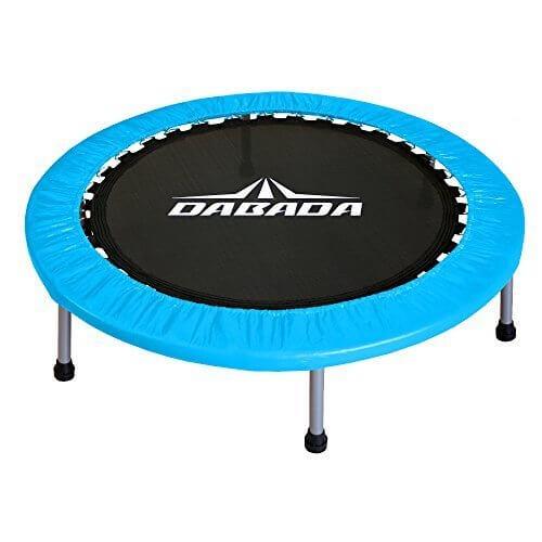 DABADA(ダバダ) トランポリン 大型102cm【耐荷重110kg】簡単組立 子供から大人まで使用可能 (スカイブルー),スポーツ,玩具,おすすめ