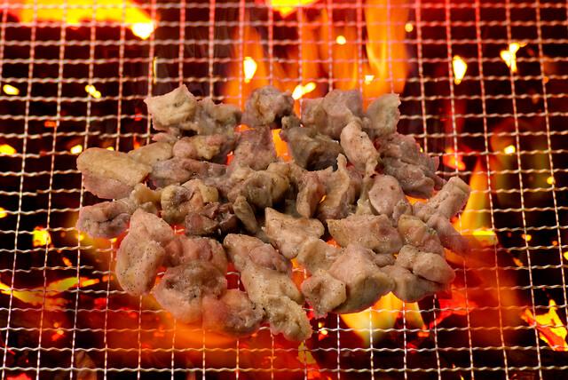 地鶏の炭火焼,谷根千,ランチ,