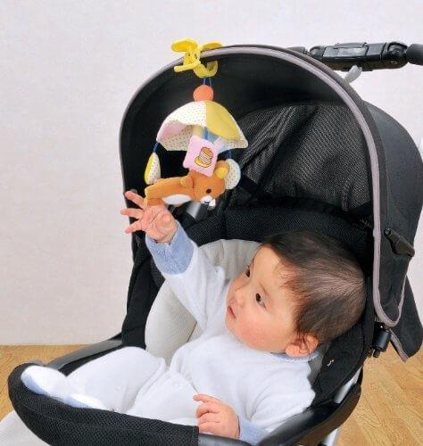 リラックマ おさんぽメリー,リラックマ,おもちゃ,赤ちゃん