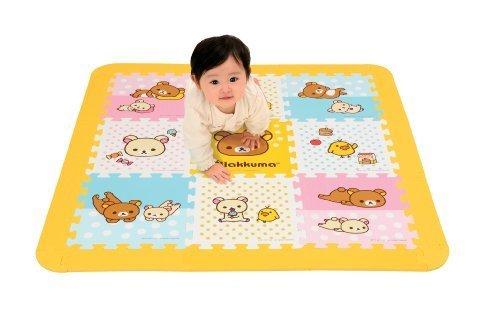 リラックマ やわらかパズルマット,リラックマ,おもちゃ,赤ちゃん