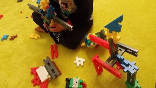 ニューブロックで遊ぶ,ニューブロック,おすすめ,作り方