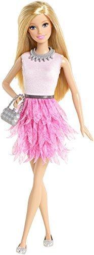Barbie バービーファッショニスタ(ピンクフリル)(CFG13),バービー,人形,おすすめ