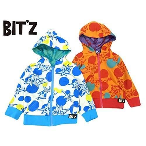 (ビッツ) BIT'Z リバーシブルパーカー 80 アイボリー,ベビー,パーカー,