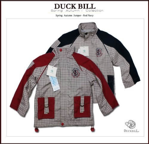 小さな騎兵隊背中のロゴが格好いい切り替えしジャケット(ウインドブレーカー),ベビー,ウインドブレーカー,