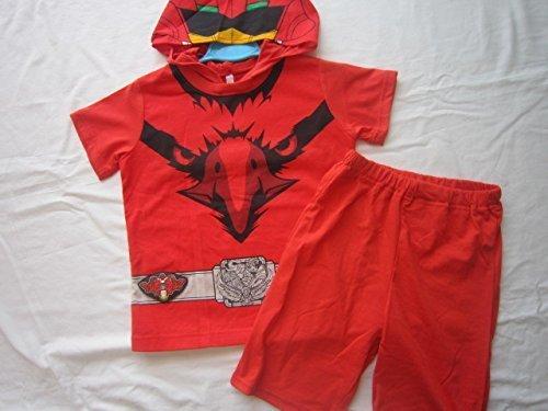 ジュウオウジャー イーグル レッド 変身なりきり半袖パジャマ,キッズ,パジャマ,
