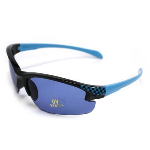 キッズサングラス UV紫外線カット(スポーツブルー)【C08-Z17】,キッズ,サングラス,