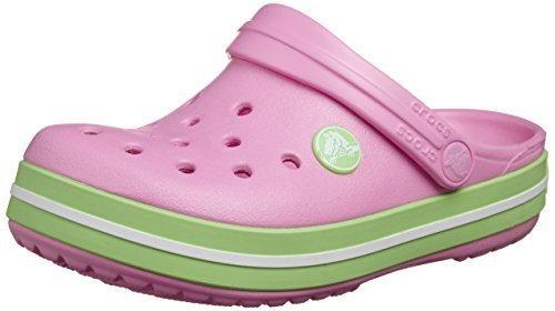[クロックス] Crocs Crocband Kids 10998 carnation/green glow (carnation/green glow/C10/11),キッズサンダル,女の子,