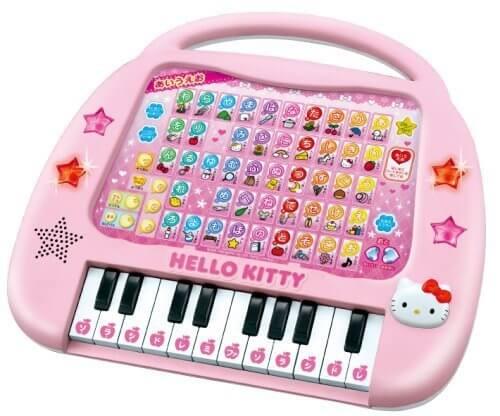 ハローキティ ピアノあいうえお,電子玩具,男の子,女の子