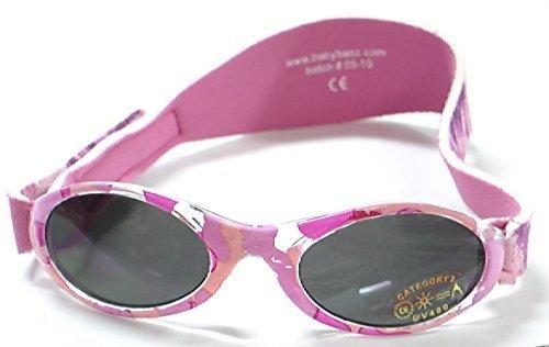 Banz(バンズ) オーストラリア発 UV100%カット アドベンチャーバンズ バンドタイプサングラス キッズ用 カモピンク,ベビー,サングラス,