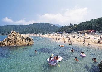 水晶浜海水浴場,水晶浜,海水浴場,