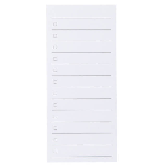 植林木ペーパーチェックリスト付箋紙,無印,便利,