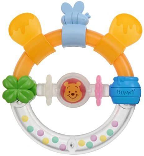 ディズニー Dear Little Hands おしゃぶりラトル くまのプーさん,ラトル,人気,おすすめ