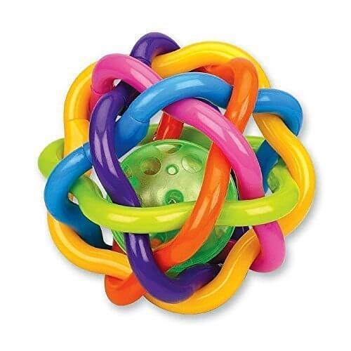 Happytime オーボール ラトル おしゃぶり 歯固め ボール 赤ちゃん ベビー 知育玩具 おもちゃ メリー 0歳から レインボー 音鳴り,ラトル,人気,おすすめ