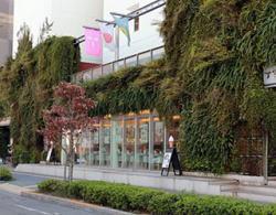 「グリーンパレット」の外観,徳島,子連れ,ランチ
