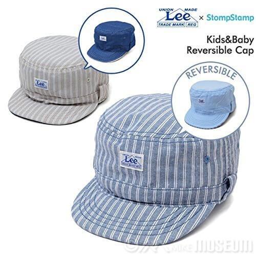 ストンプスタンプ(STOMP STAMP)×リー(LEE) キッズ&ベビー ダブルネーム リバーシブルキャップ CAP 帽子,キッズ,子供,帽子
