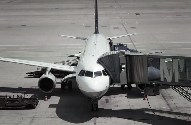 降機準備中の飛行機,機内,子供,過ごし方