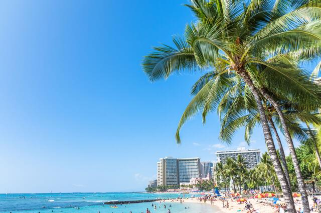ハワイの海岸,子連れ,海外,ランキング