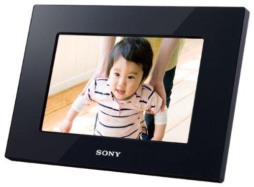 ソニー SONY デジタルフォトフレーム S-Frame D710 7.0型 内蔵メモリー128MB ブラック DPF-D710/B,子供,海外,旅行