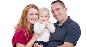 子を抱える両親,ロタウィルス,実践,家