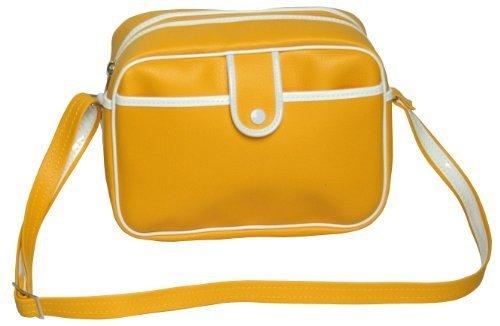【豊岡製】合皮 黄色幼稚園鞄 [9002] 通園バッグ ショルダー,通園バッグ,