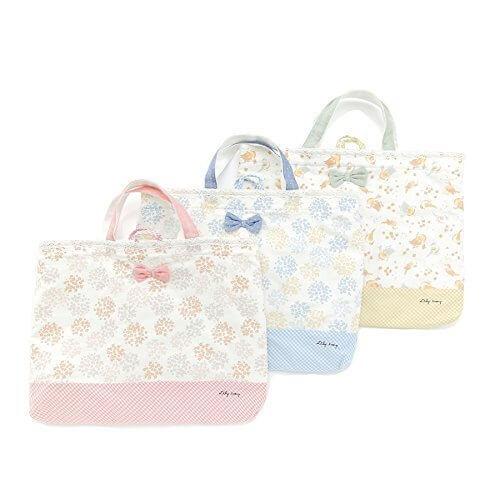 Lily ivory(リリー アイボリー) レッスンバッグ (フリ-) キムラタンの子供服 (71711-171a) ピンク フリ-,通園バッグ,