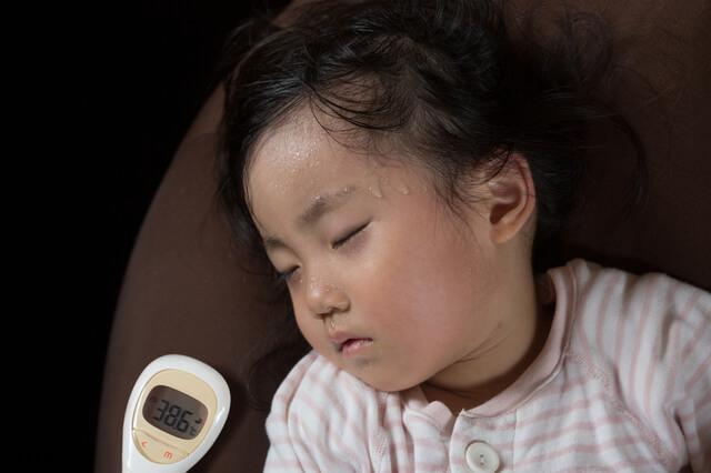 高熱,発疹,赤ちゃん,