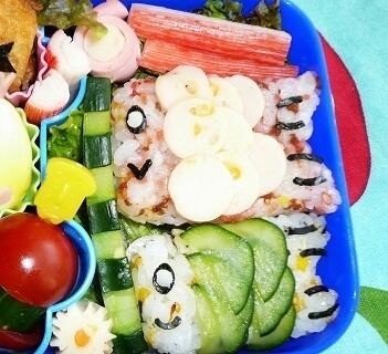 鯉のぼりのお弁当,キャラ弁,作り方,