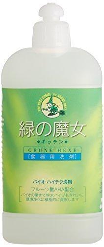 緑の魔女 キッチン(食器用洗剤) 420ml,緑の魔女,
