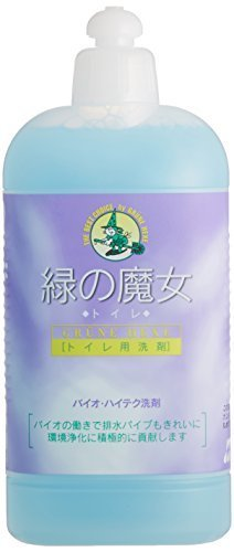 緑の魔女 トイレ(トイレ用洗剤) 420ml,緑の魔女,
