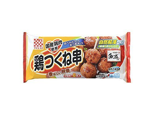 [冷凍] ケイエス 国産鶏 鶏つくね串照焼 132g,お弁当,冷凍食品,