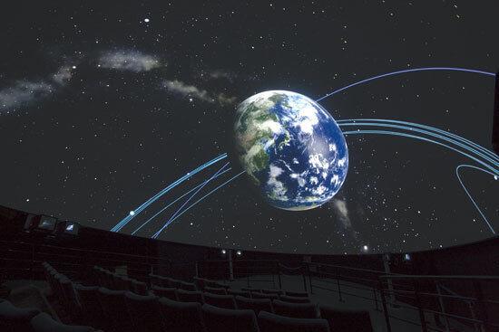シンラドームの投影内容,東京,科学技術館,