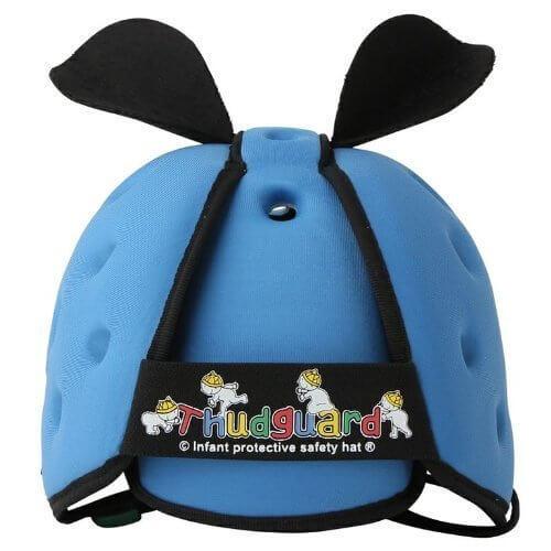 室内用ヘルメットブルー,赤ちゃん,転倒防止,