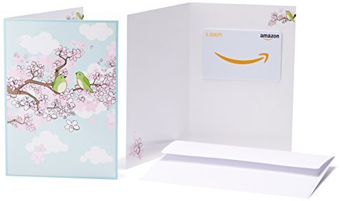 Amazonギフト券(グリーティングカードタイプ ) - 5,000円 (春),出産祝い,三人目,