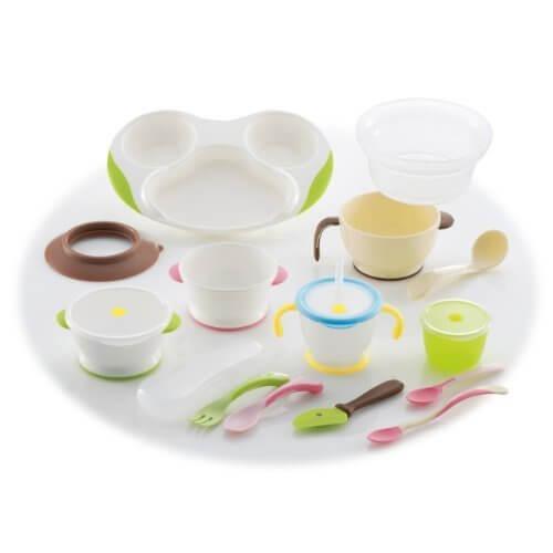 リッチェル トライシリーズ ベビー食器セット ND-5,離乳食,食器,