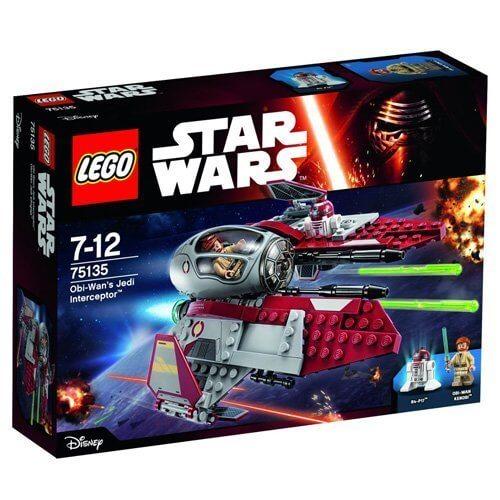 レゴ スター・ウォーズ オビ=ワンのジェダイ・インターセプター 75135,最新,おもちゃ,