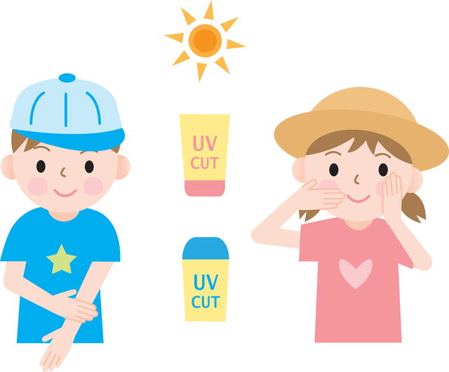 子どもの紫外線対策,子供用,日焼け止め,